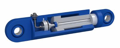 Controle de posição em cilindros hidráulicos - Novotechnik - Cardella Automation